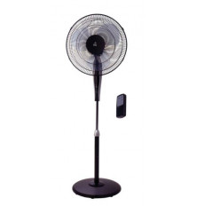 Ventilador Pie P-40 Black Multiorientable