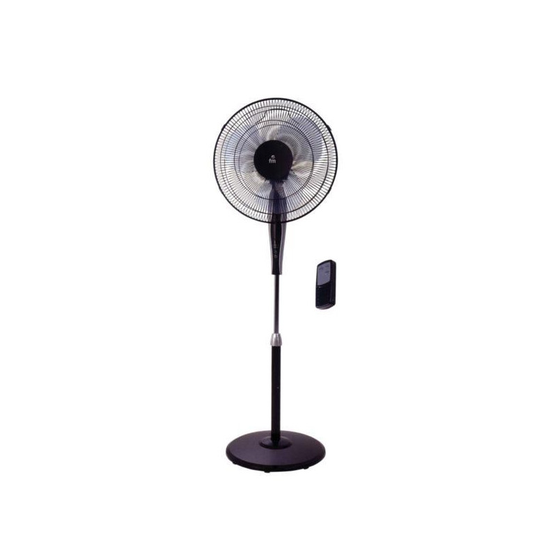 Ventilador pie con MD P-40 BLACK