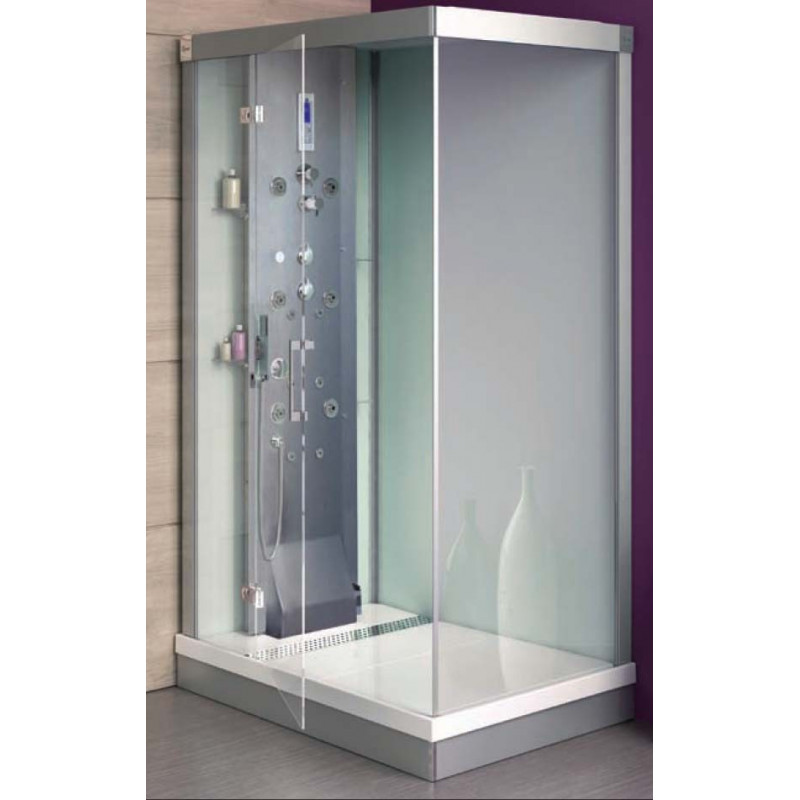 Cabina ducha alba power hidrosauna 120x90 climabit for Cabina de ducha easy