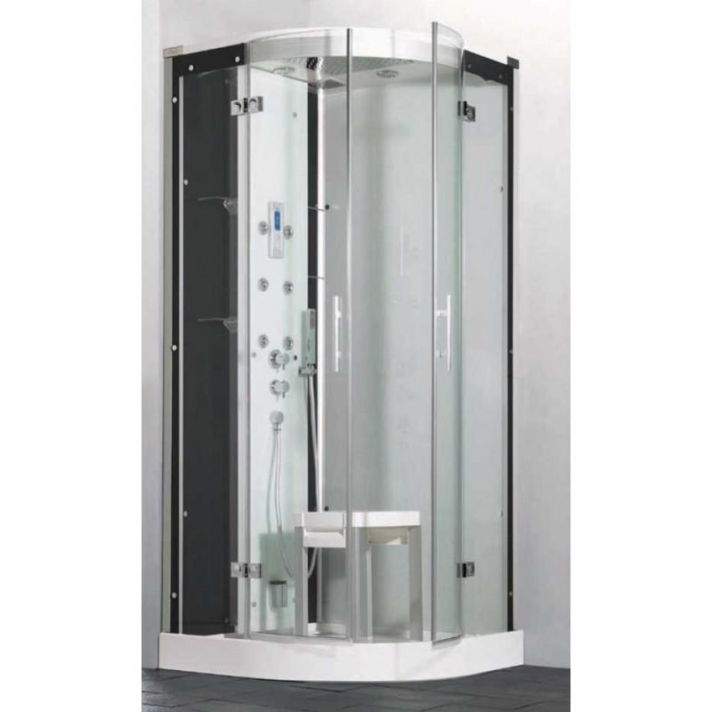 Cabina ducha horizon hidrosauna 90x90 climabit - Cabina de duchas ...