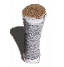 Enrejado simple torsión 16x50 galvanizado