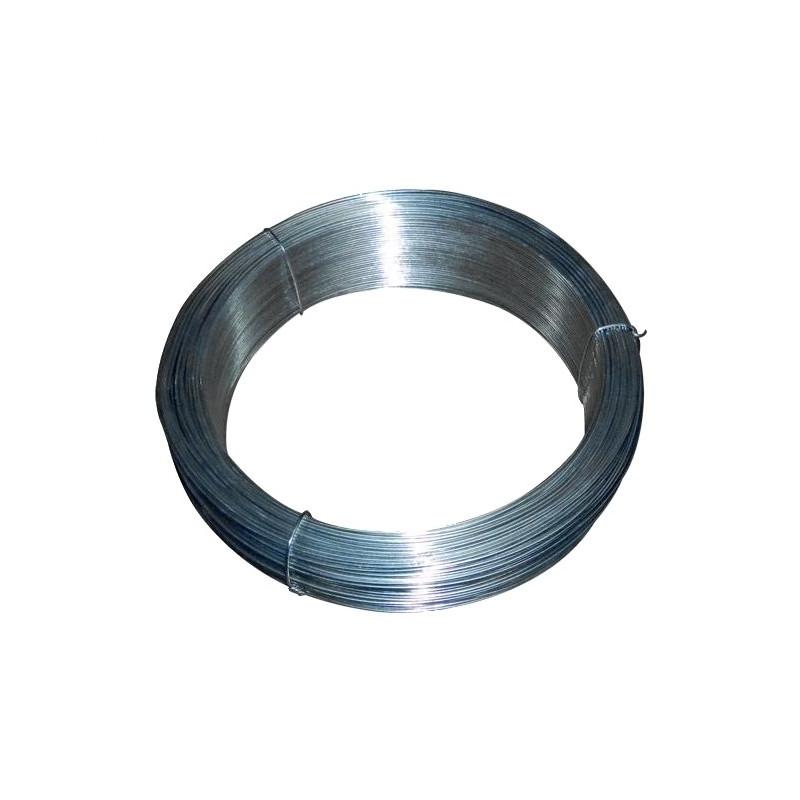 Rollo alambre galvanizado Nº16 - 2,7 mm. (40 Kg.)