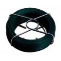 Alambre atar plastif. verde 1,5 mm. (Rollo 25 mt.)