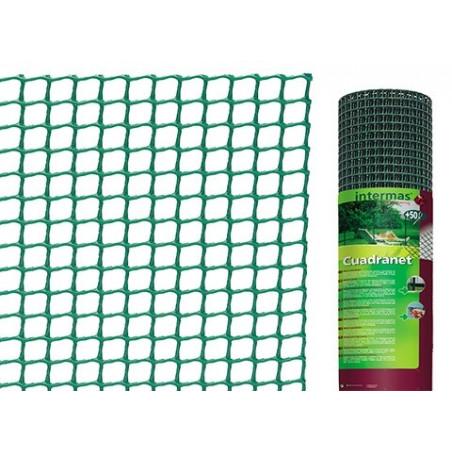 Malla Plástica Cuadrada Cuadranet 18x20 - Rollo 25 mt.