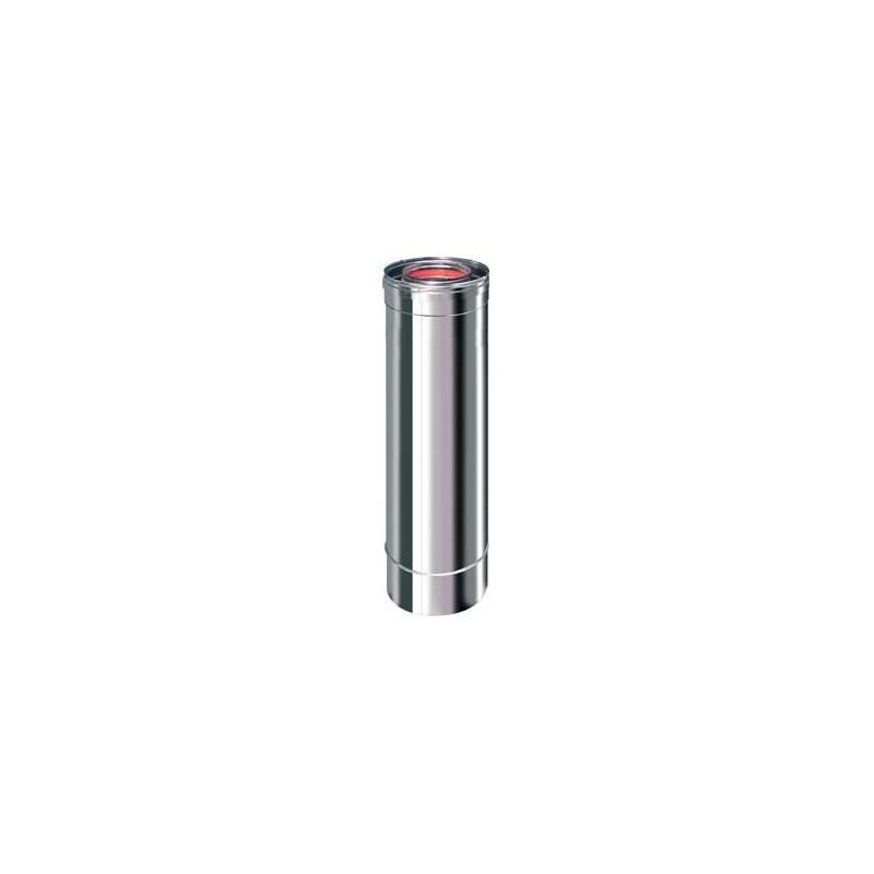 Tubo 0,5 mt. Inox Concéntrico 80-125