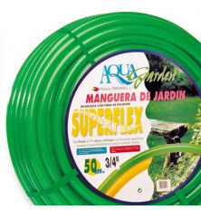 Manguera Superflex Reforzada 17x24 Rollo 50 mt.