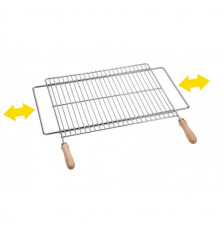 Parrilla Barbacoa Extensible 50x40 Inox
