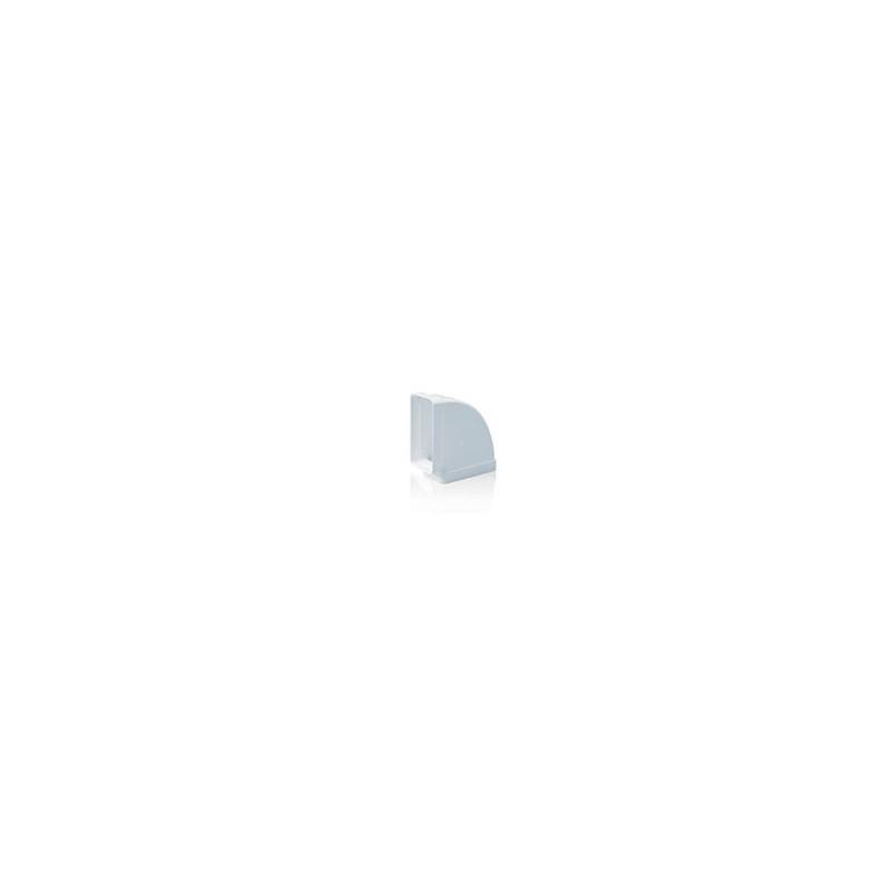 Codo Rectangular Horizontal 90º 110x55