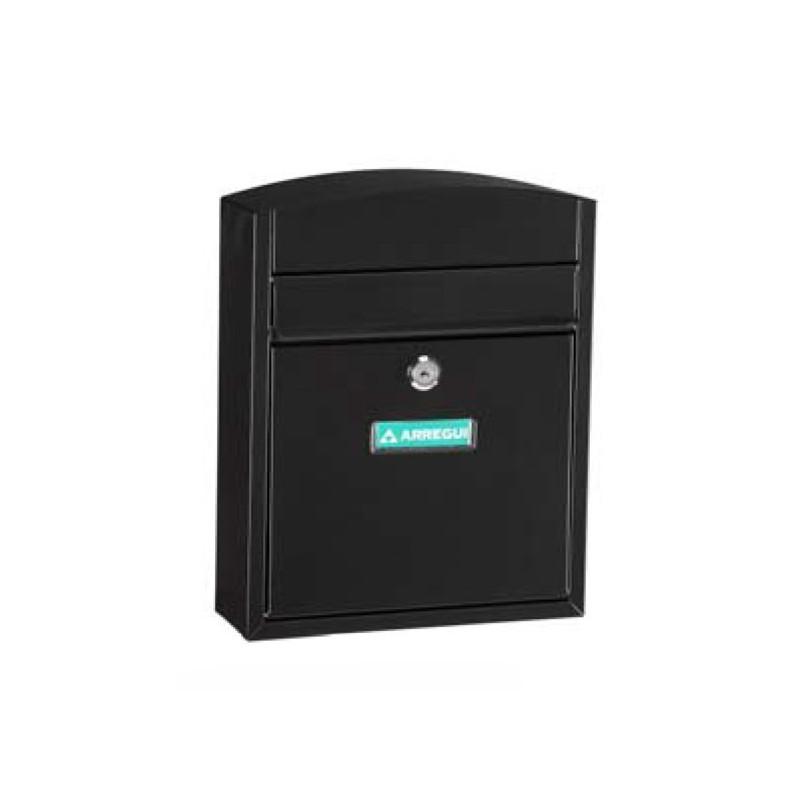 Buzón Compact E-5734 Acero Negro