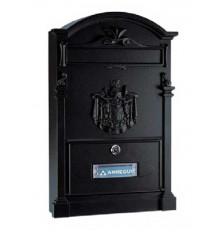 Buzón Residencia E-2614 Aluminio Negro