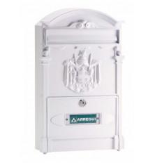 Buzón Residencia E-2611 Aluminio Blanco