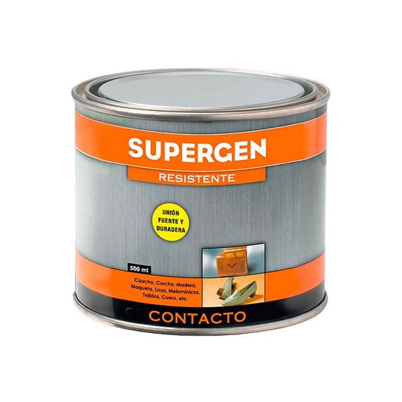 Cola Contacto Supergen bote 125 ML.