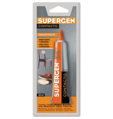 Cola Contacto Supergen tubo 20 ML.