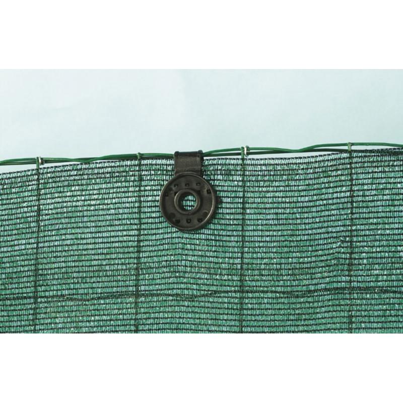 Malla ocultación 95% Totaltex Verde Rollo 50 mt.