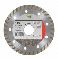 Disco Corte Diamante Turbo Triuso 115 mm.