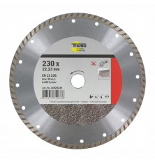 Disco Corte Diamante Turbo Triuso 230 mm.