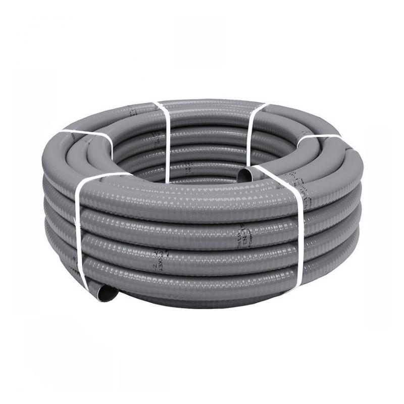 Tubo PVC Flexible 20x25 Gris