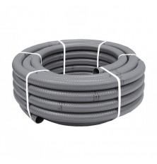 Tubo PVC Flexible 34x40 Gris