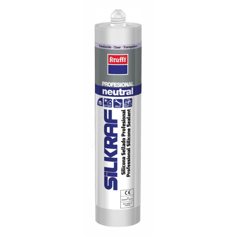 Silicona Neutra Silkraf Translúcida 300 ml.