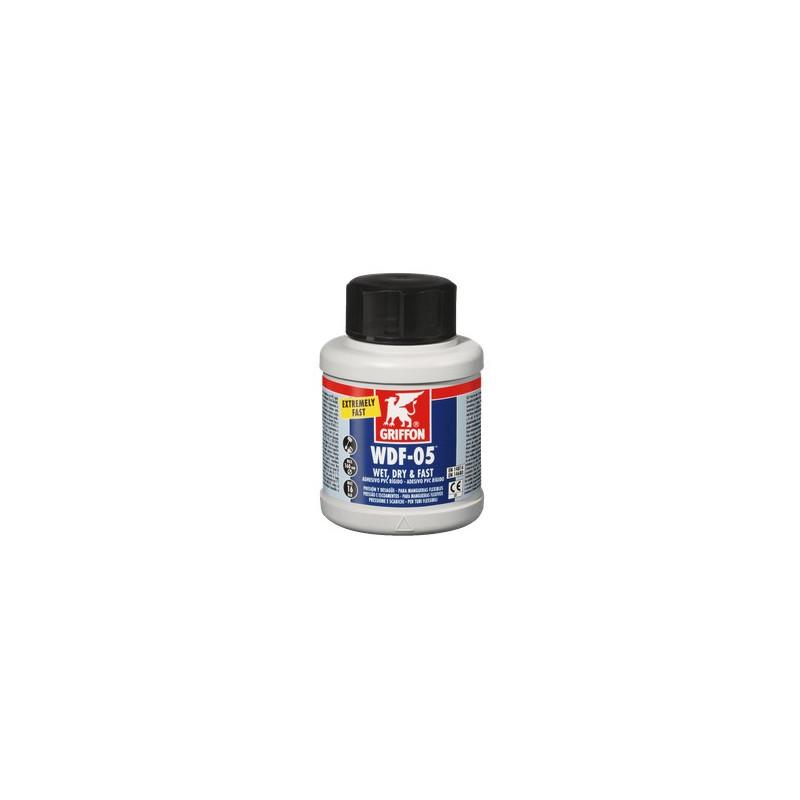 Adhesivo PVC Flexible GRIFFON WDF-05 250 ML.