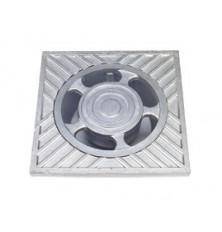 Sumidero Aluminio 10x10 cm.