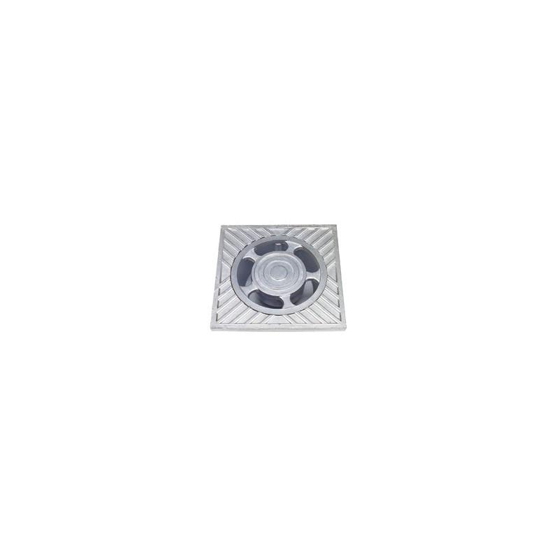 Sumidero aluminio 25x25 cm.