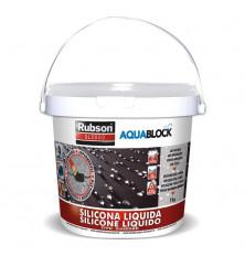Silicona Líquida Aquablock SL3000 Blanca 1 Kg.