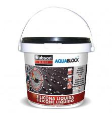 Silicona Líquida Aquablock SL3000 Negra 1 Kg.