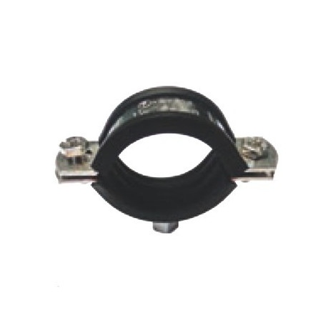 Abrazadera Isofónica Inox M8 - 40 mm.