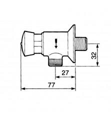 Grifo Temporizado Urinario Presto 12-A