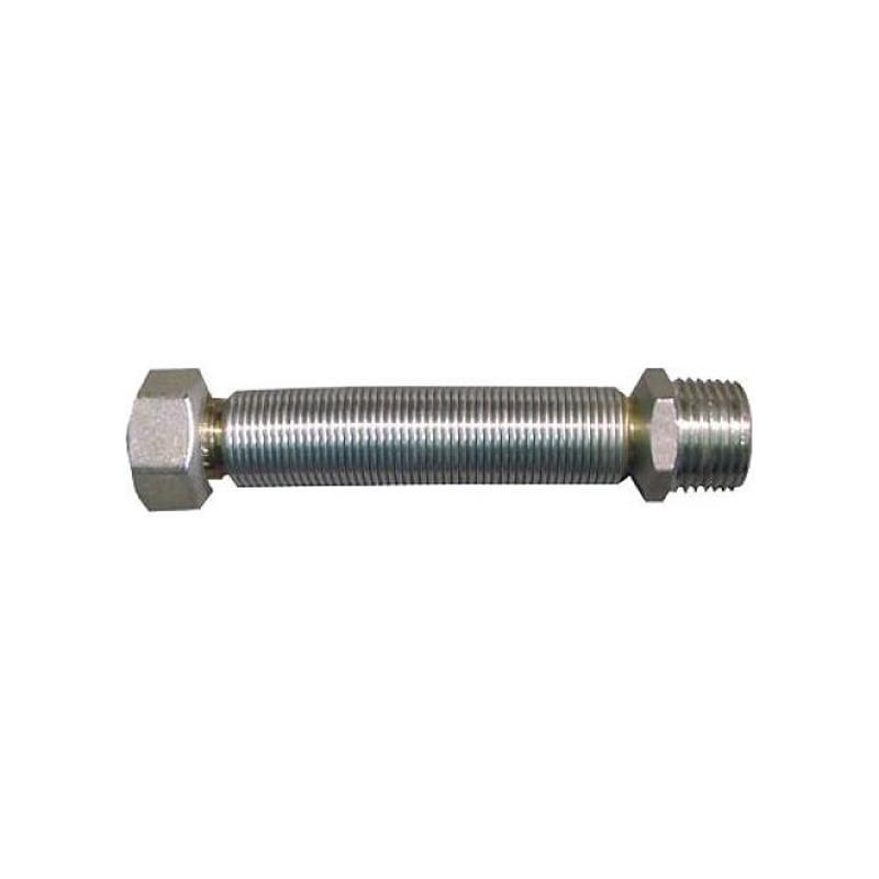 Latiguillo Inox Extensible M-H 1/2 20-40 cm.