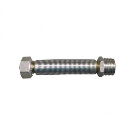 Latiguillo Inox Extensible 30-60 cm. M-H 1/2