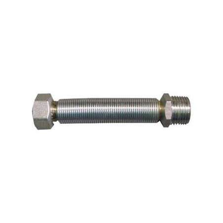 Latiguillo Inox Extensible 75-150 cm. M-H 3/4