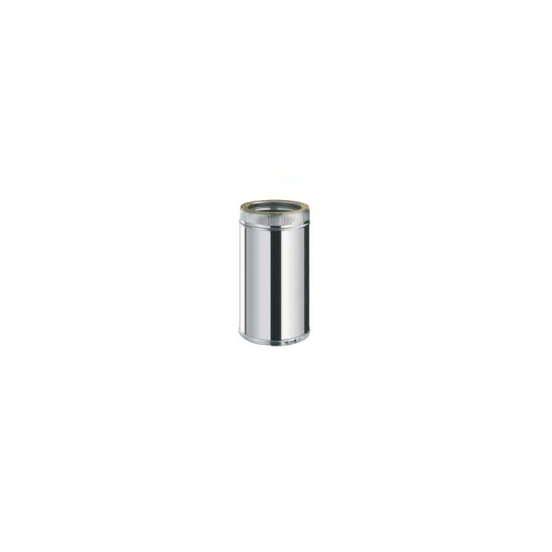 Tubo 0,5 mt. Inox/Inox Doble Pared 316L