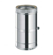 Tubo extensible 320/490 mm. Inox/Inox Doble Pared 316L
