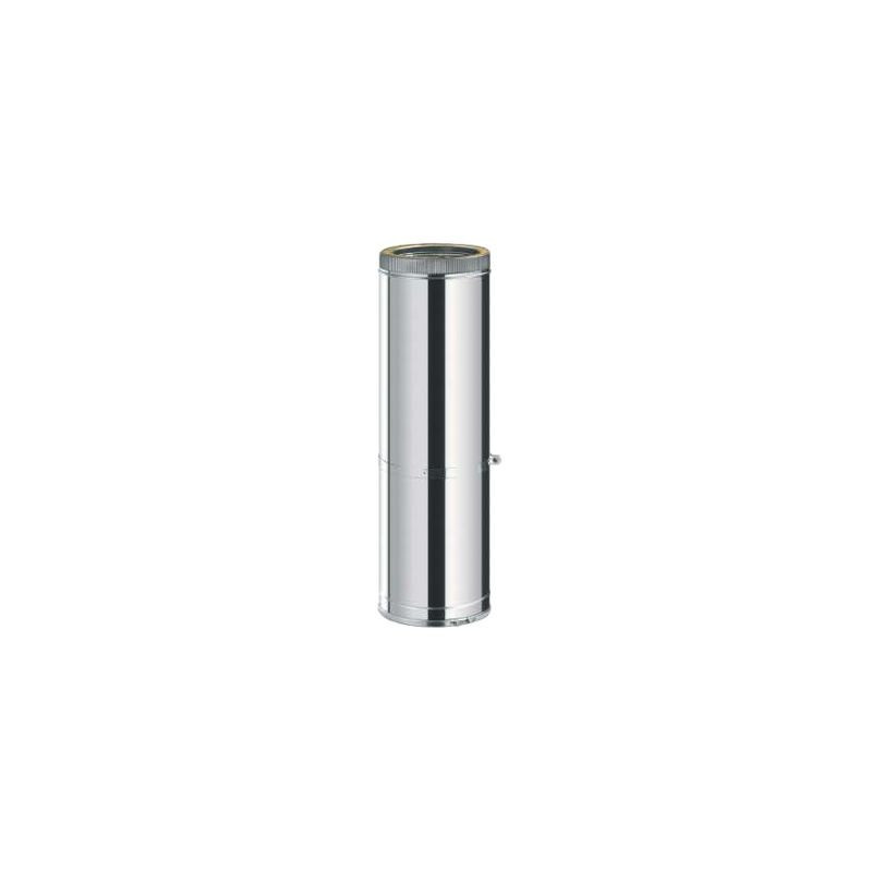 Tubo extensible 550/950 mm. Inox/Inox Doble Pared 316L