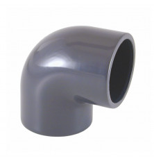 Codo PVC-U 90º Hembra Encolar