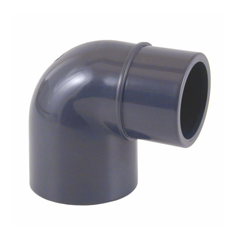 Codo PVC-U 90º Macho-Hembra Encolar