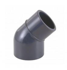 Codo PVC-U 45º Macho-Hembra Encolar