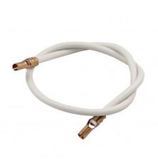 Cable Electrodo Silicona 39 cm. - Terminales 4 mm.