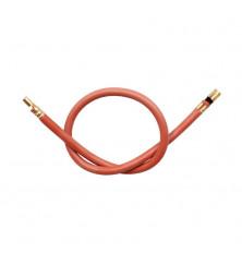Cable Electrodo Silicona 43 cm. - Terminales 4 / 6,35 mm.