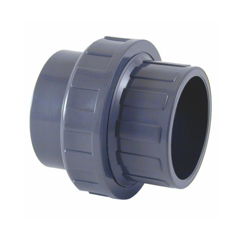 Enlace 3 Piezas PVC-U Liso Encolar para tuberías de PVC ...