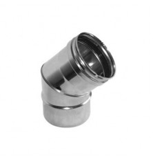 Codo 45º Inox Simple 316L
