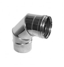 Codo 90º Inox Simple 316L