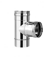 Te 90º Hembra Inox Simple 316L
