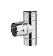 Te 90º Macho Inox Simple 316L
