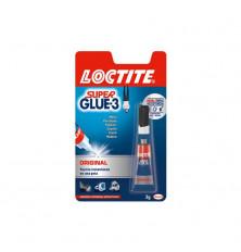 Adhesivo Loctite Super Glue-3 Líquido Original 3g