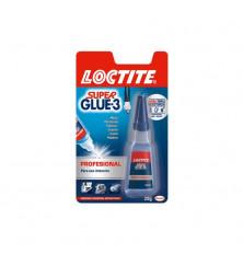 Adhesivo Loctite Super Glue-3 Líquido Profesional 20g
