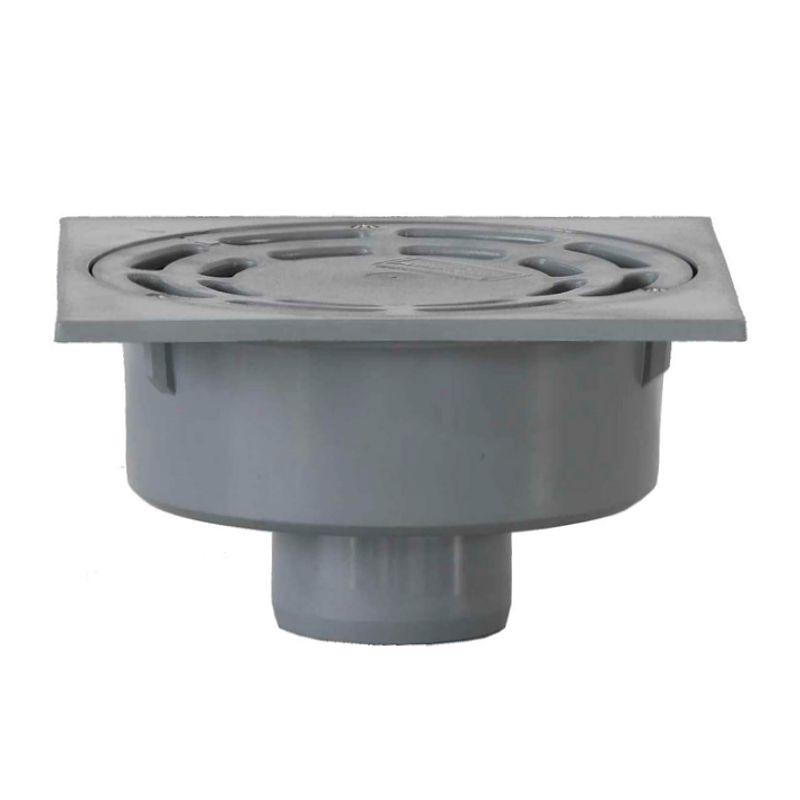Sumidero PVC 15x15 cm. - Salida Vertical 75 mm.