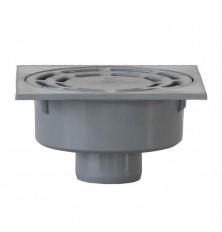Sumidero PVC 20x20 cm. - Salida Vertical 90 mm.